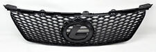 Lexus IS250 IS350 2006-2008 F Sport Style Matte Black Mesh Front Grill