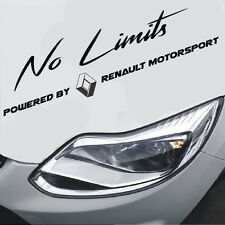 No Limits powered by Renault Motorsport Sport Mind Aufkleber Sticker Limited