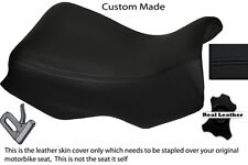 BLACK STITCH CUSTOM FITS BMW R 1150 GS FRONT RIDER LEATHER SEAT COVER