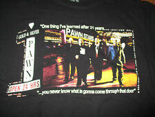 PAWN STARS World's Famous GOLD & SILVER PAWN SHOP Open 24 Hours (XL) T-Shirt