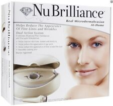 NuBrilliance At Home Real Microdermabrasion Kit DUAL ACTION SYSTEM Brand New
