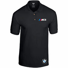 BMW Polo Shirt M Power Beamer Motorsport Car Unisex Black or Heather up to 2XL