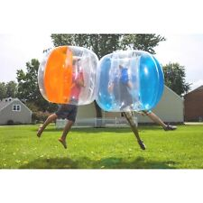 "BUBBLE BUMPER~GIRL BOY~ORANGE OR BLUE~BALL~INFLATABLE 51""FUN SOCCER ZORB OUTDOOR"