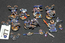 GAMES Workshop Warhammer 40K Chaos Space Marines rumore MARINES Tzeentch STREGONE