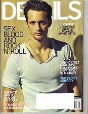 ALEXANDER SKARSGARD Details Magazine 5/10 TRUE BLOOD