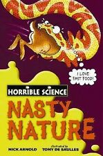 Nasty Nature (Horrible Science), Nick Arnold, New Book