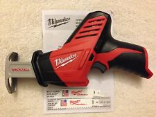 New Milwaukee 2420-20 12V Volt M12 Cordless Hackzall Reciprocating Saw Sawzall