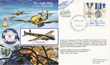 RAFA17a Battle of Britain The Night Blitz Signed 3 Battle of Britain Pilots