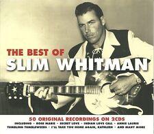 THE BEST OF SLIM WHITMAN - 2 CD BOX SET - ROSE MARIE, SECRET LOVE & MORE