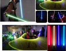 2pcs cosplay led light party lightsaber light weapon light sword  star wars