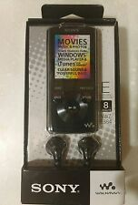 Sony Walkman NWZ-E384 8GB Video MP3 Player display black