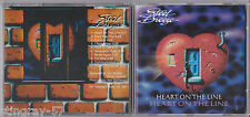 STEEL BREEZE: HEART ON THE LINE CD RARE TONEMAN MUSIC KEVIN CHALFANT THE STORM