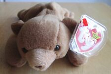 CUBBIE THE BROWN BEAR 1993  TY BEANIE BABY, great condition