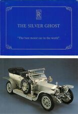 Rolls-Royce Silver Ghost NSPCC Charity Tour 1990 UK Market Brochure & Postcard