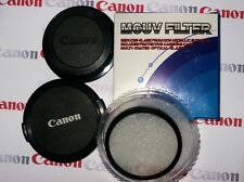 CANON LENS CAPS&UV FILTER 52mm 55mm Rear Body AFMF