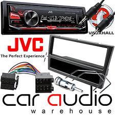 Vauxhall Corsa C 2000 - 2004 JVC Car Stereo Radio Mechless MP3 AUX Kit Grey