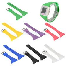Silicone Watch Wrist Band Replacement Strap for Polar FT4 FT7 FT Black