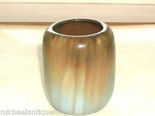 Wonderful Signed Fulper Ovoid Flambe Cabinet Vase
