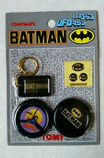 Tomy 1989 DC Comics Batman UFO, Keychain, Stickers #2~ Ray Rohr Cosmic Artifacts