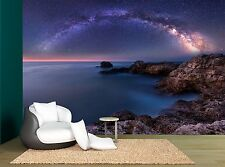 Universe Space Stars Milky Way Sea Wall Mural Photo Wallpaper GIANT WALL DECOR