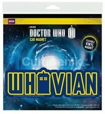 Doctor Who TV Series Whovian Flexible Vinyl Car Magnet Decal, NEW SEALED