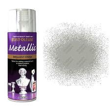 x12 Rust-Oleum Multi-Purpose Premium Spray Paint Indoor Outdoor Metallic Chrome