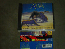 Arena Songs From The Lion's Cage Japan CD