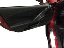 C7 Corvette Clear Door Panel Kickers Protectors ( fits all 2014-2016 stingrays)