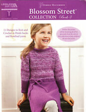 Blossom Street Collection Book 3 Crochet Knit Patterns Knitting Baby Hats Dress