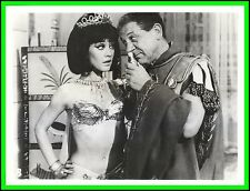 "AMANDA BARRIE & SIDNEY JAMES in ""Carry on Cleo"" Original Vintage Photo 1964"