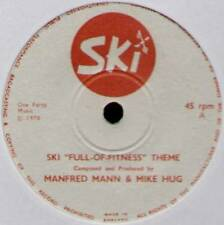 """MANFRED MANN & MIKE HUG ~ SKI """"FULL-OF-FITNESS"""" THEME ~ 1971 UK 7"""" SINGLE"""