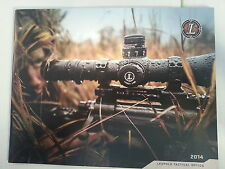 Leupold Tactical Products Catalog Booklet / 2014 / New / 45 Pages