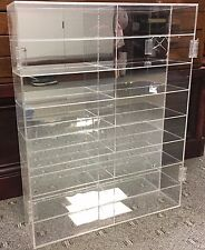 Nascar Diecast 16 Car 1:24 Scale Display Case