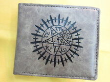 Rare Black Butler Logo Cosplay Anime Faux Leather Wallet Purse New (1075199)