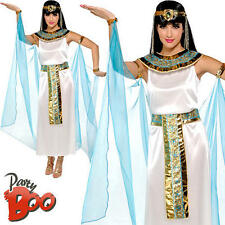 Cleopatra Egyptian Queen UK 10 12 Ladies Ancient Egypt Fancy Dress Women Costume