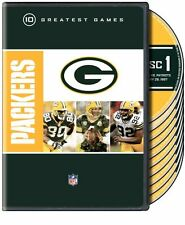 NFL Greatest Games - Green Bay Packers 10 Greatest Games [DVD] NEU