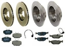 BMW E30 318i 318is 325i 325is Complete Brake KIT Rotors Pads Sensors Premium