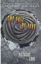 Lorien Legacies: The Fall of Five 4 by Pittacus Lore (2014, Hardcover )
