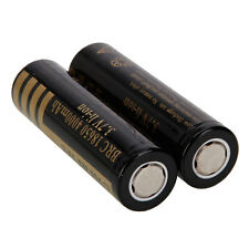 2X New 18650 3.7V 4000mAh Li-ion Rechargeable Battery for Led Torch Flashlight