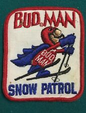 Vintage Bud Man Snow Patrol Patch From The 70's