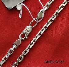 22g RUSSIAN ORTHODOX STERLING SILVER 925 DARK CHAIN. ANCHOR. 65cm, 25.6""