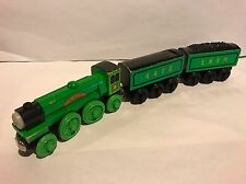 THE FLYING SCOTSMAN Thomas Train Wooden Railway Wood RARE Retired VHTF LNER