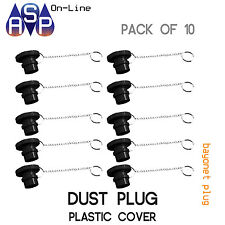 DUST COVER TO SUIT BAYONET GAS FITTING - PACK OF 10
