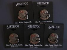 TAMPA BAY BUCCANEERS PEWTER HELMET PINS LOT OF FIVE (5) NEW NFL LICENSED