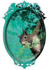 Ibride Ecureuil Tray The Squirrel Wall Art