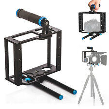 TARION C2 DSLR Camera Cage Rig 15mm Rod Tripod Shoulder Support for Canon Nikon
