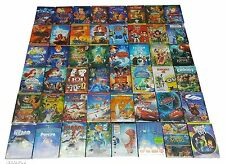 Disney DVDs lot of 12:Aladdin,Snow White,Beauty and the Beast,Brave,Bambi,more..