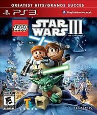 PS3 ADVENTURE-LEGO STAR WARS 3 THE CLONE WARS PS3 NEW