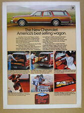 1979 Chevrolet Caprice Classic Estate Station Wagon 7x photo vintage print Ad