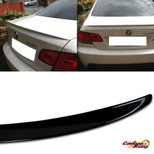 PAINTED BMW E92 3-Series 2D Coupe M3 Rear Trunk Spoiler ABS 06-11 320i 330i 335i